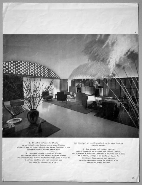 Casa Gomis, living room