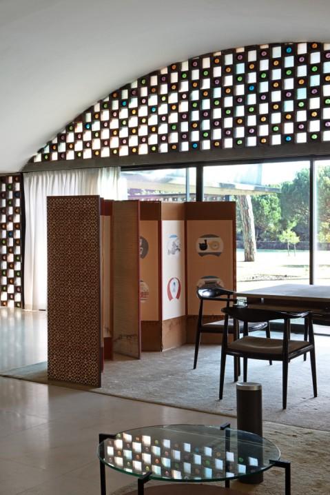 La Ricarda, interior