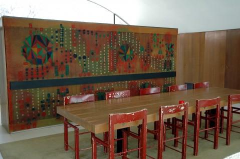 La Ricarda, dining room