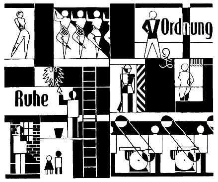Gerd Anrtz: Ruhe und Ordnung